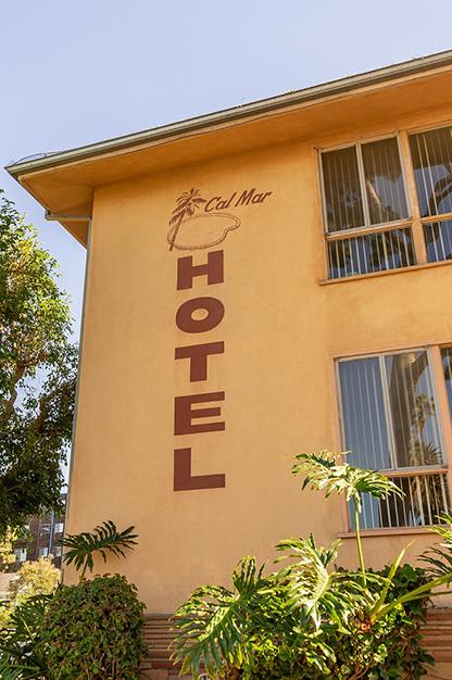 Cal Mar Hotel Exterior