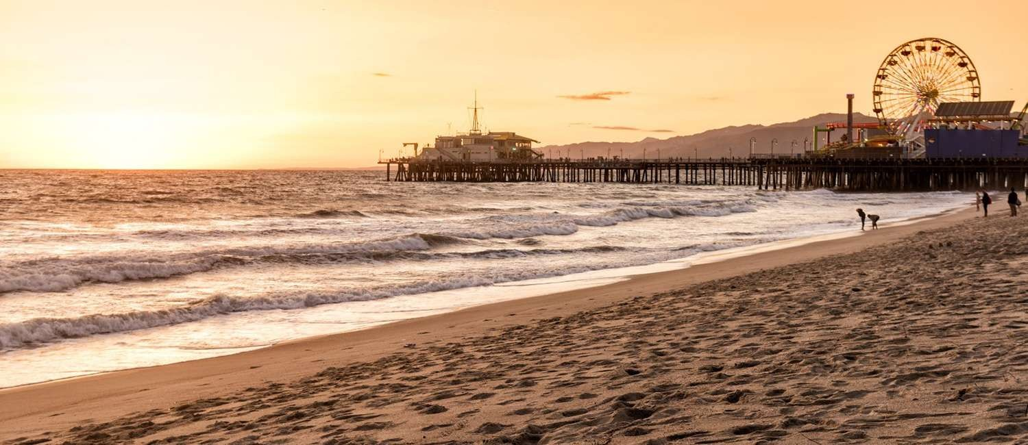 ICONIC SANTA MONICA ATTRACTIONS ARE STEPS AWAY
